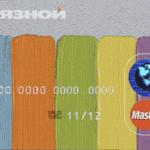 Кредитные карты Банка Связной