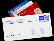 Кредитные карты почтой